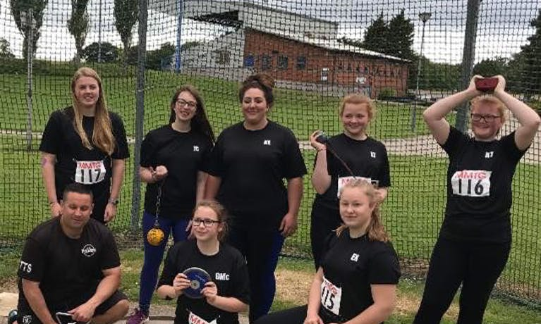 Teesside Throwers Squad