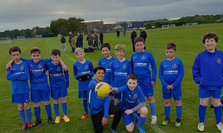 Eaglescliffe Elementis Junior Football Club - Under 11 Blues