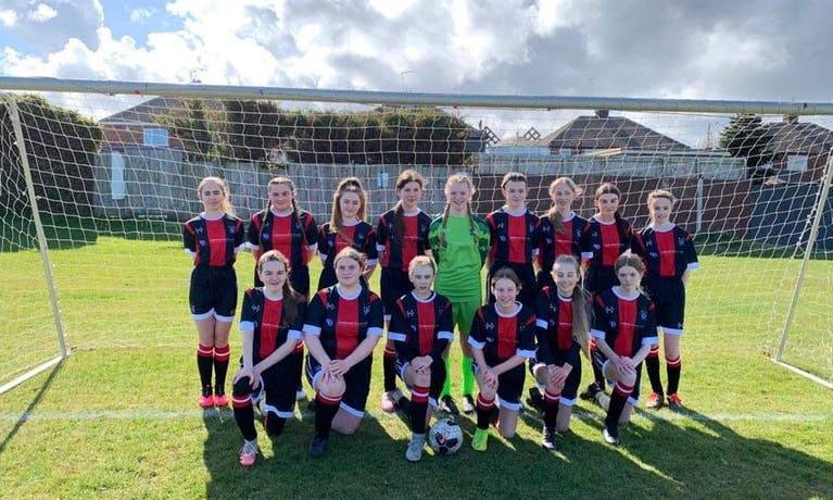 Redcar Town Lionesses Football Team